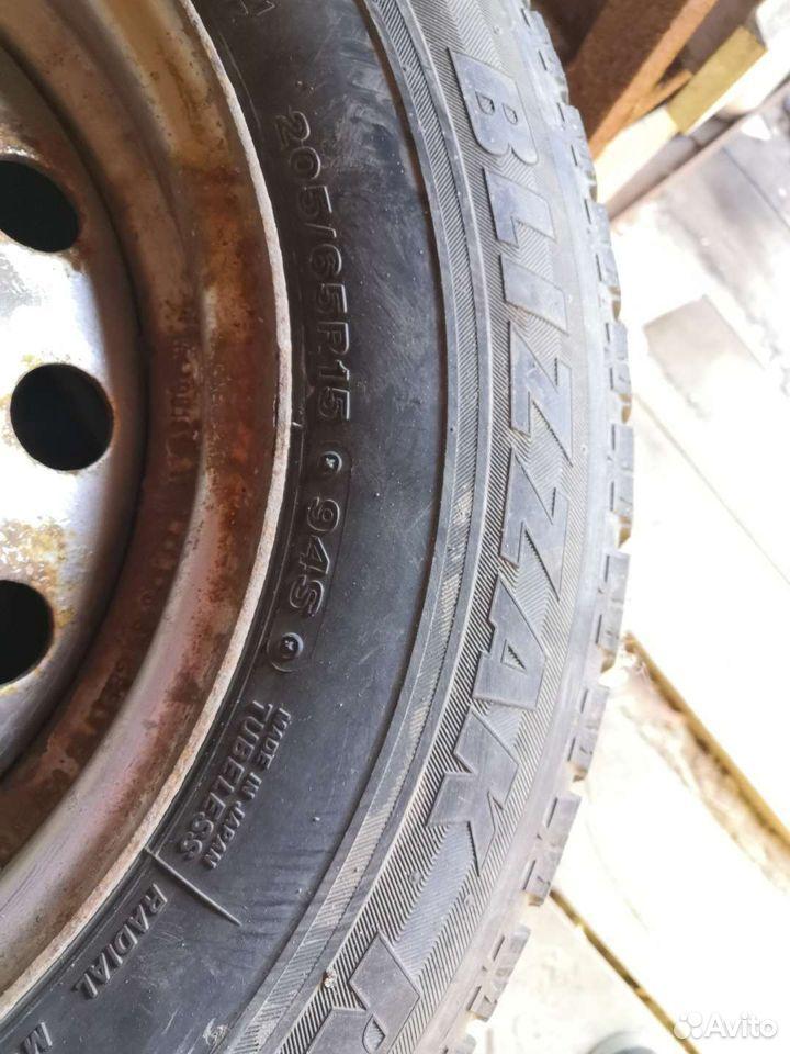 205/65/15 липучки Bridgestone, комплект