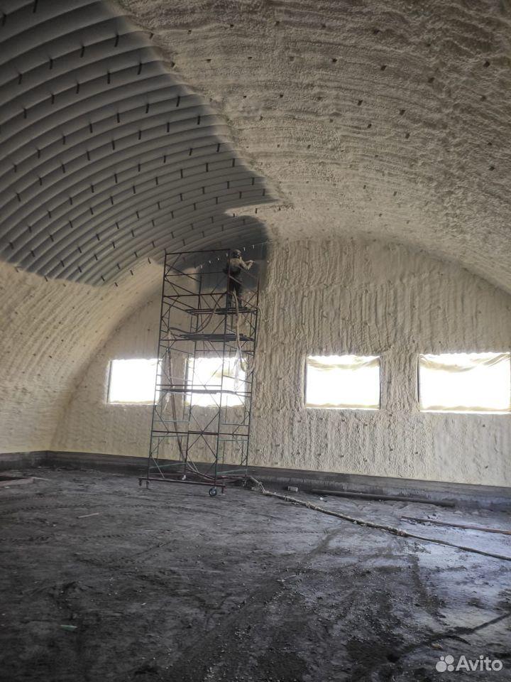 Утепление домов и складов пнополеуриетаном  89173551717 купить 3