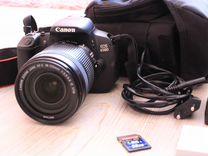 Фотоаппарат Canon 650D + Объектив 18-135mm IS STM