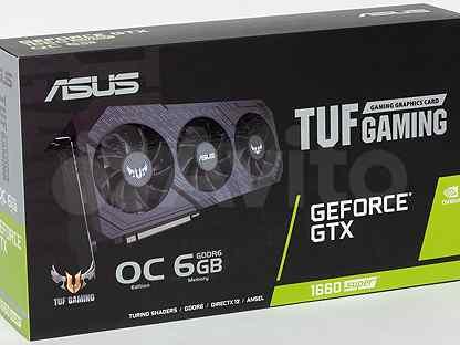 Видеокарта Asus GTX 1660 Super 6GB