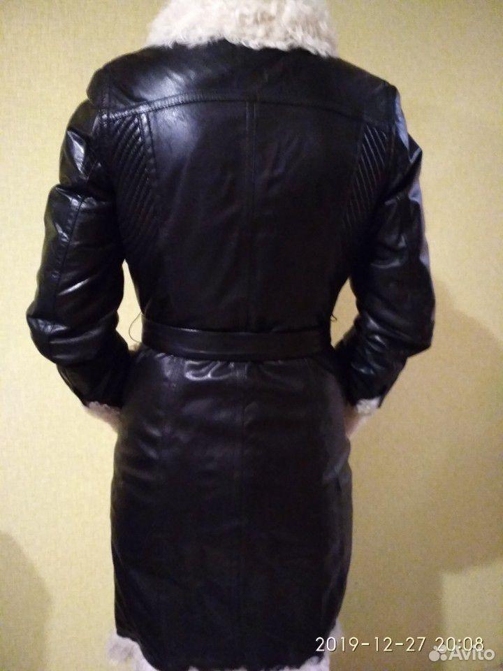 Плащ кожаный  89920199909 купить 3