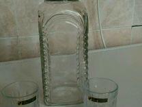 Хрустальный набор для спиртных напитков