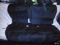 Чехлы на сиденья для Nissan Juke экокожа — Запчасти и аксессуары в Саратове