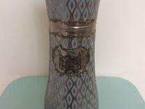 Продам металлическую вазу.Высота 25 см