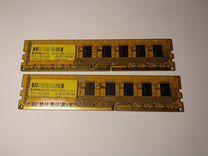 Оперативная память DDR3 2х2Gb 1333мгц — Товары для компьютера в Новосибирске