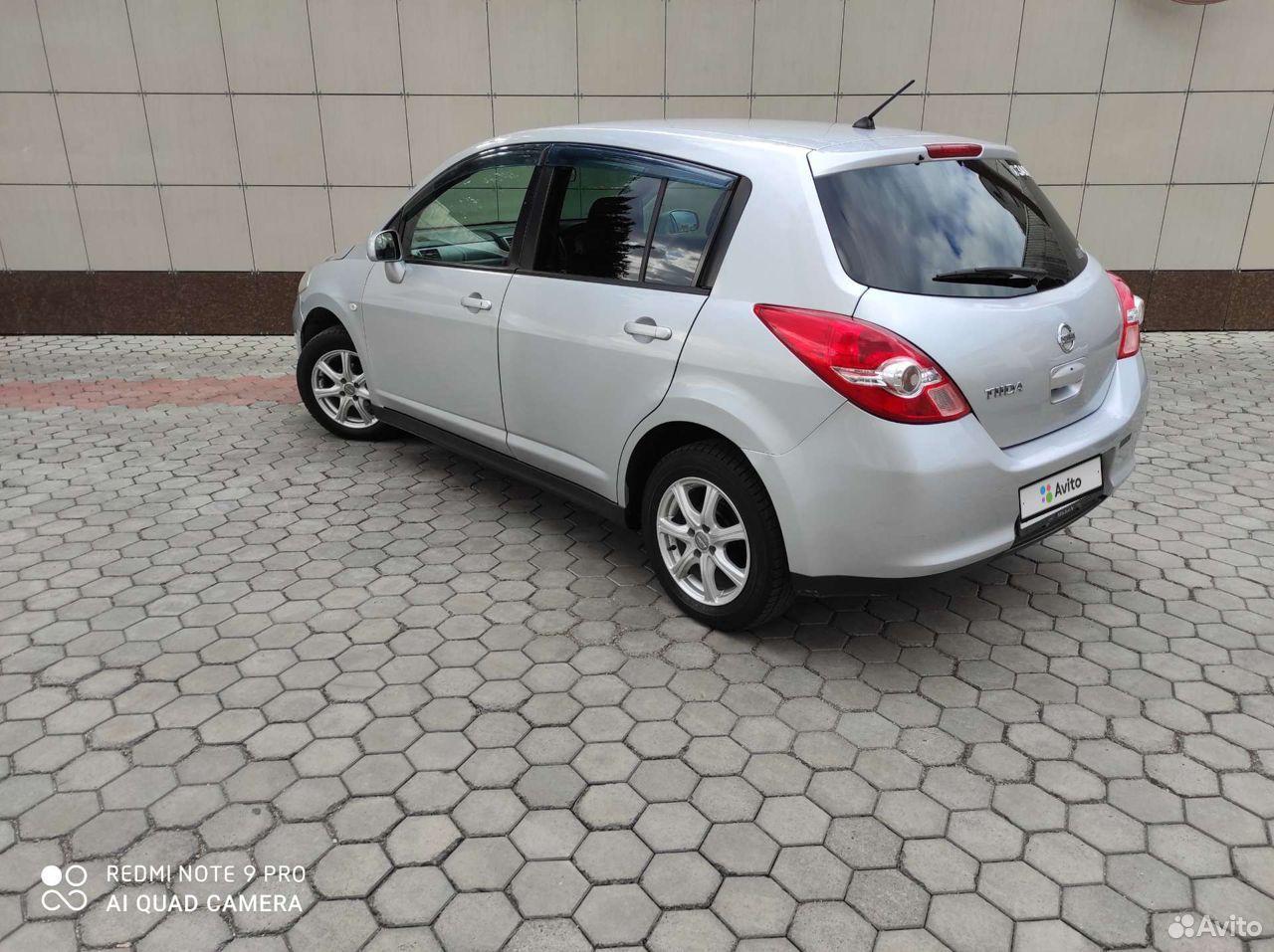 Nissan Tiida, 2009  89098120307 купить 3