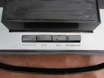 Небольшой катушечный (бобиный) магнитофон СССР