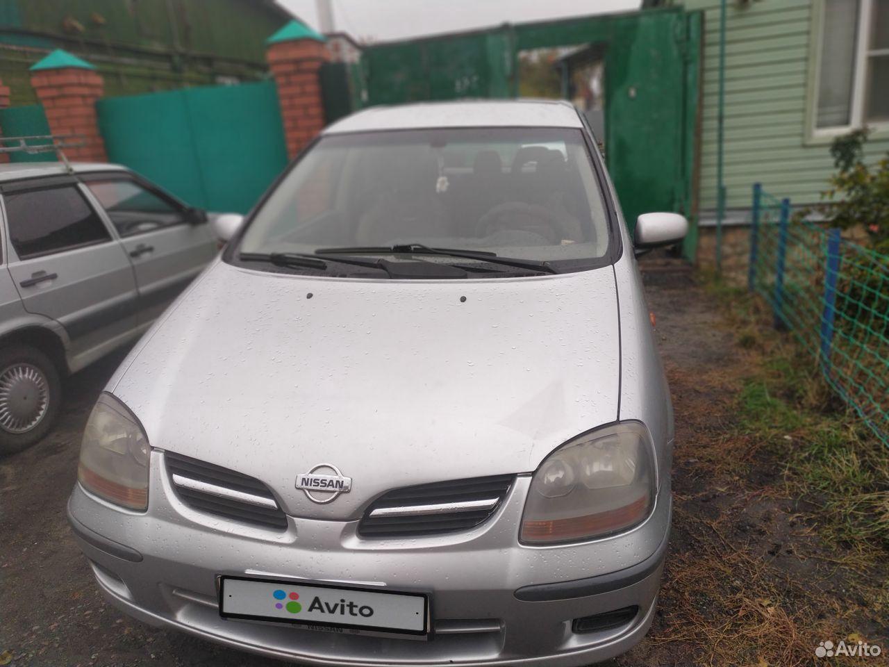 Nissan Almera Tino, 2001  89092383189 купить 2