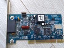 Модем DialUp Zyxel Omni 56K PCI+