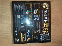 Мат.плата gigabyte 78lmt-s2r2+8gb Kingston — Товары для компьютера в Москве