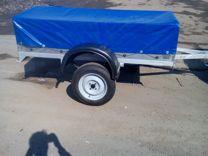 Новый 2*1,3 оцинкованный с тентом и колёсами
