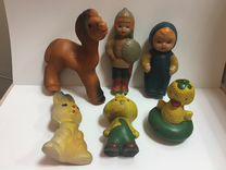 Резиновые игрушки Пищалки СССР